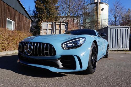 Mercedes AMG GTR Komplettfolierung