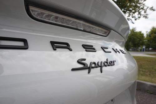 Porsche Spyder Heckstoßstange